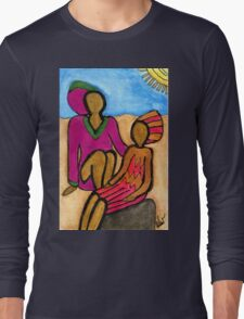 Sun Sistahs T-Shirt Long Sleeve T-Shirt
