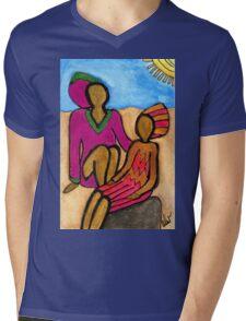 Sun Sistahs T-Shirt Mens V-Neck T-Shirt