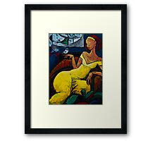 "The Healing Process - from ""The Eternal WHYs"" series  Framed Print"