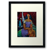 "The ADIOS Letter - from ""The Eternal WHYs"" series Framed Print"