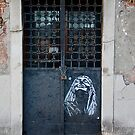 Door with Stencil, Venice by Barbara Wyeth
