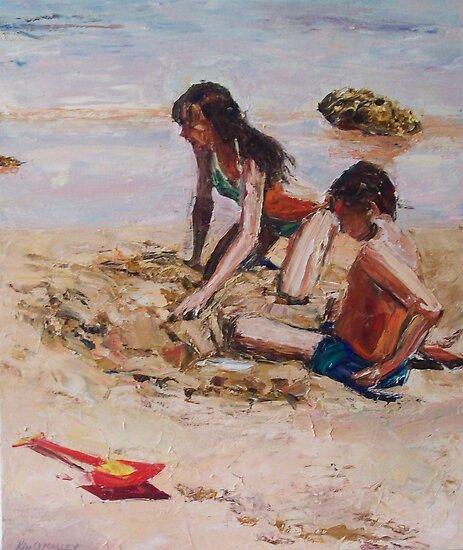Summer Daze 4 by Kim O'Malley