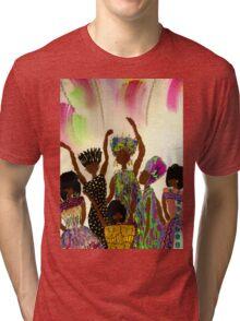 Tapestry T-Shirt Tri-blend T-Shirt