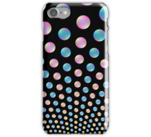 Blue and Pink Bubble Fountain iPhone Case/Skin