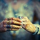 Brides hands by naureen bokhari