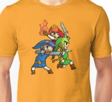 Triforce Heroes Legend of Zelda Unisex T-Shirt