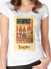 We Inspire One Another T-Shirt Women's Fitted Scoop T-Shirt