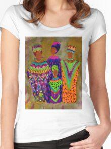 We Women T-Shirt Women's Fitted Scoop T-Shirt