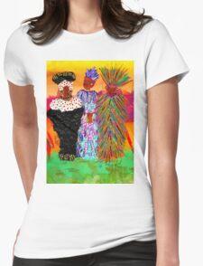 We Women Folks T-Shirt Womens Fitted T-Shirt