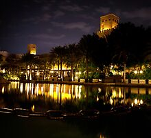 Madinat Jumeirah, Dubai by Helen Shippey