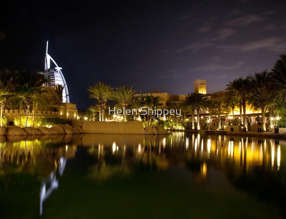 Burj Al Arab Hotel, Dubai by Helen Shippey