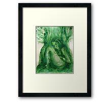 """""""Inside of tree"""" Framed Print"""