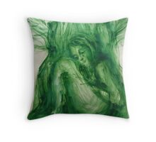 """Inside of tree"" Throw Pillow"