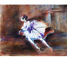 """Ballerina"" Photographic Print"