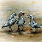 """Three Graces"" by Tatjana Larina"