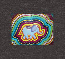 Elephant Dreams Original Painting ~ Rainbow Blossom Hoodie