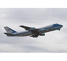 92-9000 Air Force One Taking Off Photographic Print