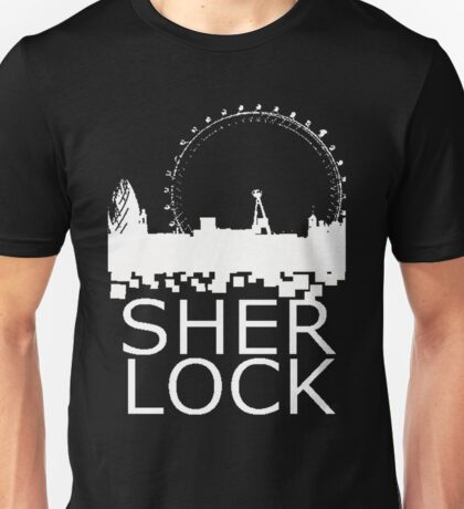 Sherlock Skyline Unisex T-Shirt
