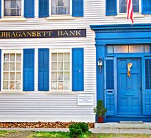 Narragansett Bank - Wickford Rhode Island by Jack McCabe