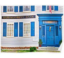 Narragansett Bank - Wickford Rhode Island Poster