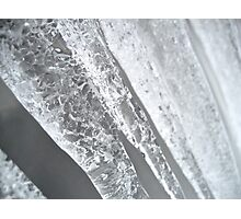 Pure Icicles Photographic Print