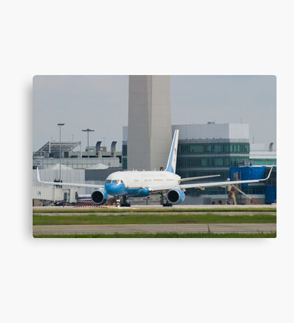 90003 Air Force Two Boeing VC-32A 757-2G4 Head On Taxi Canvas Print