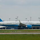 90003 Air Force Two Boeing VC-32A 757-2G4 Take Off by Henry Plumley