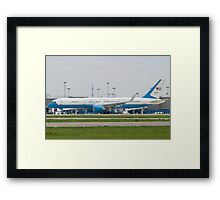 90003 Air Force Two Boeing VC-32A 757-2G4 Taxi KCLE Framed Print