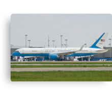 90003 Air Force Two Boeing VC-32A 757-2G4 Taxi KCLE Canvas Print