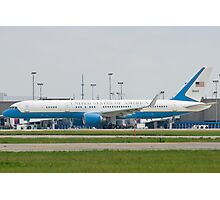 90003 Air Force Two Boeing VC-32A 757-2G4 Taxi KCLE Photographic Print