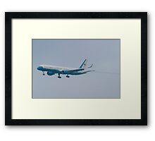 Side Shot 90003 Air Force Two Boeing VC-32A 757-2G4 On Approach Framed Print