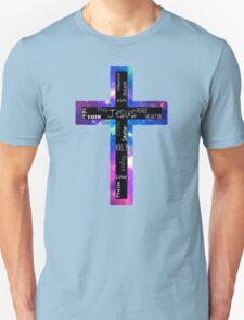 Cross of Words Unisex T-Shirt