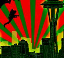 SEATTLE - JET CITY Sticker