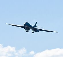 B-1B Bomber. DY AF 85 080, Head On by Henry Plumley