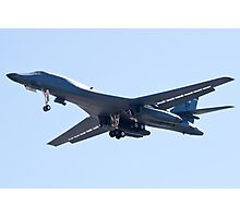 B-1B Bomber DY AF 85 105, on Approach Photographic Print