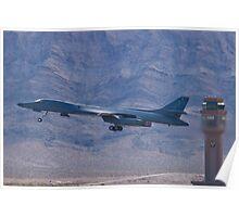 DY AF 84-0058 B-1B Lancer Take Off Poster