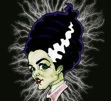 Electric Bride by psychoren
