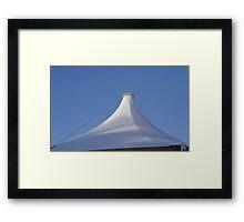 Tent Shape Framed Print