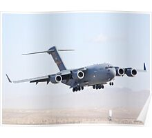 AFRC 05-5142 C-17 Globmaster III Landing Poster