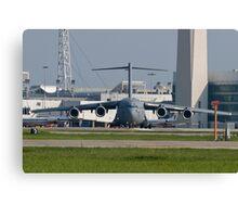 AMC 06-6156 C-17A Globemaster III  Canvas Print