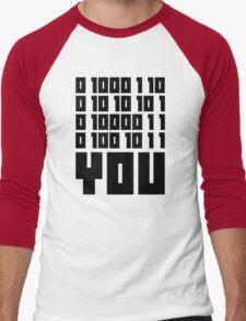 Fuck You - Binary Code Men's Baseball ¾ T-Shirt