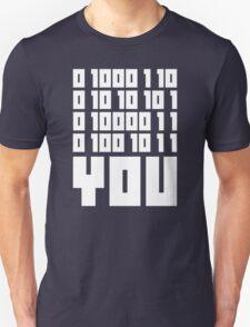 Fuck You - Binary Code Unisex T-Shirt