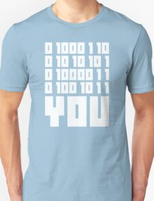Fuck You - Binary Code T-Shirt