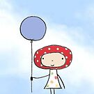 Balloon girl by lollipopsunday