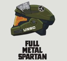 Full Metal Spartan (light) T-Shirt