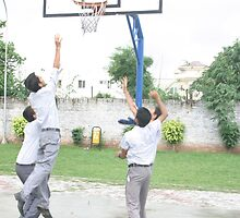 Basketball  playes by Naveed Sarwar