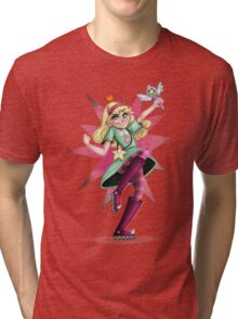 Star VS The Forces Of Evil Tri-blend T-Shirt