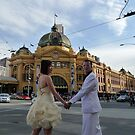 Candid Melbourne - Crossing the Road by Clare McClelland