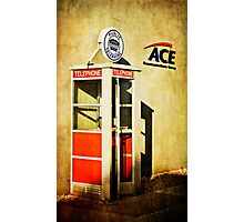 Public Telephone Photographic Print