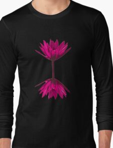 Pink lilly flower Long Sleeve T-Shirt